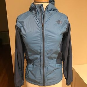 North Face Girls size 14/16 raincoat/shell